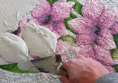 fiori mosaico
