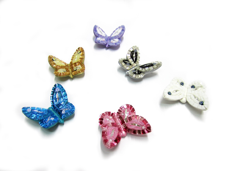 Farfalle piccole con calamita