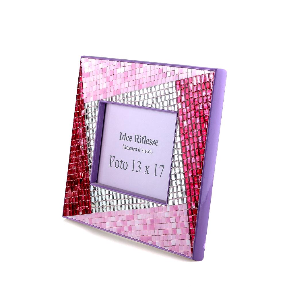 portafoto rosa