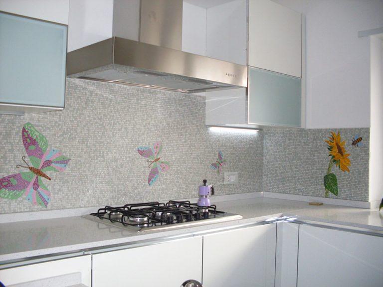 Cucina paste vitree Murano