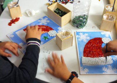 work art mosaic