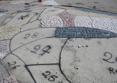 installazione mosaico