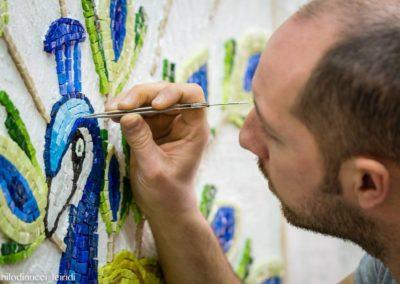 lavorazione mosaico