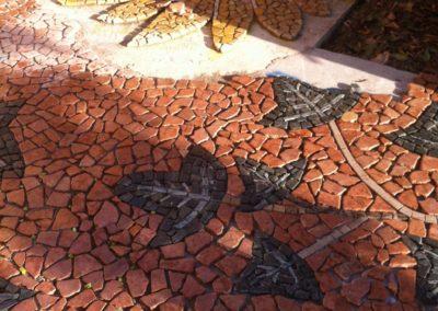posa mosaico antico