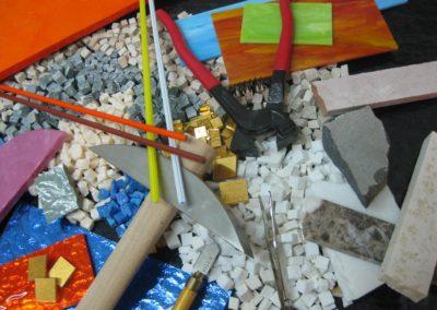 strumenti mosaico