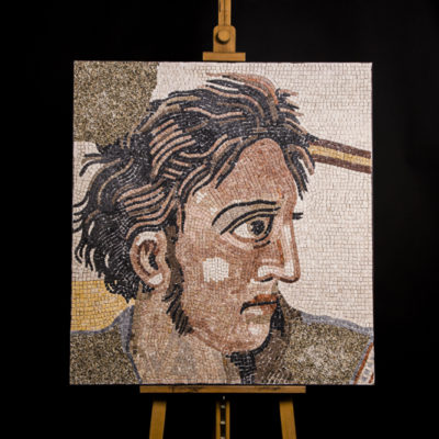 Alessandro Magno mosaico