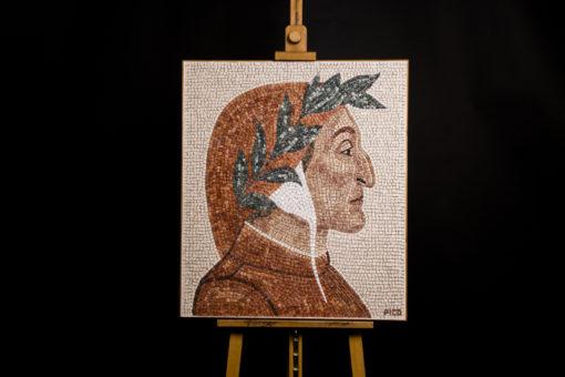 Dante Alighieri mosaico