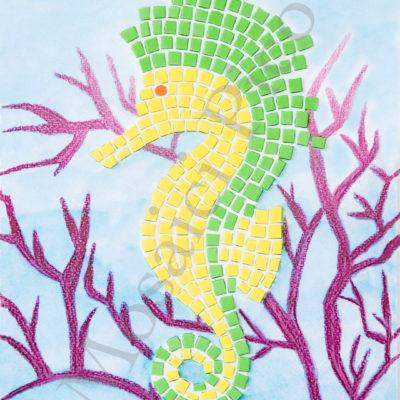 cavalluccio marino mosaico