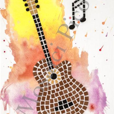 chitarra mosaico