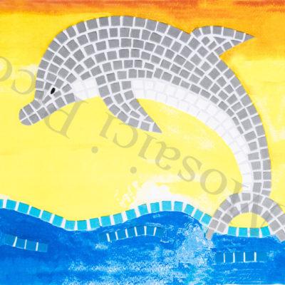 delfino mosaico