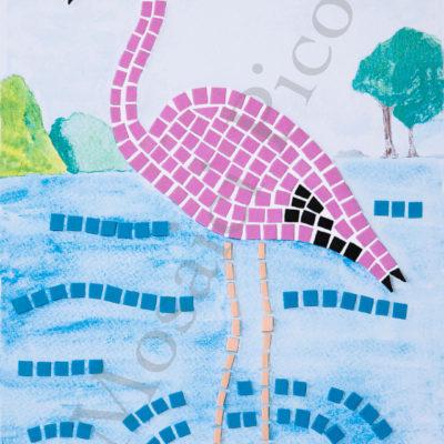fenicottero mosaico