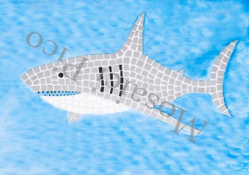 squalo mosaico