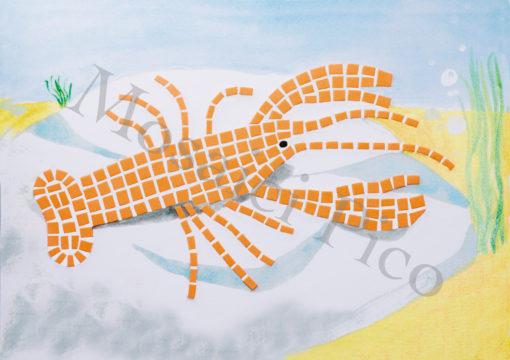 aragosta mosaico