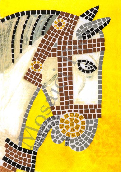 cavallo pandone mosaico