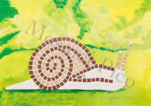 chiocciola mosaico