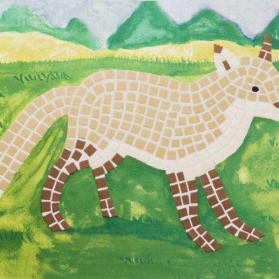 kit mosaico volpe