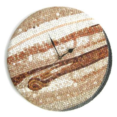 Orologio da parete in mosaico