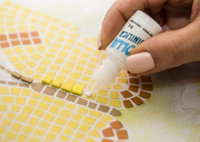 colla per mosaico