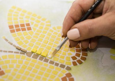 pennello mosaico