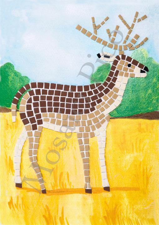 cervo mosaico