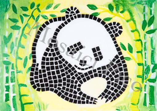 panda mosaico