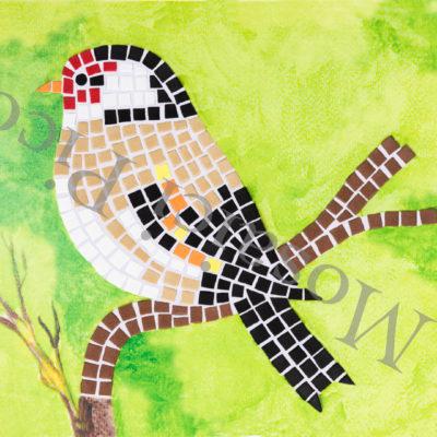 uccello mosaico